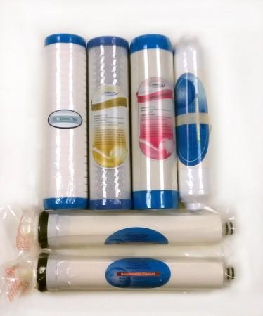 Erstatning Nanofilter - 6 Pakning med 50% Membran