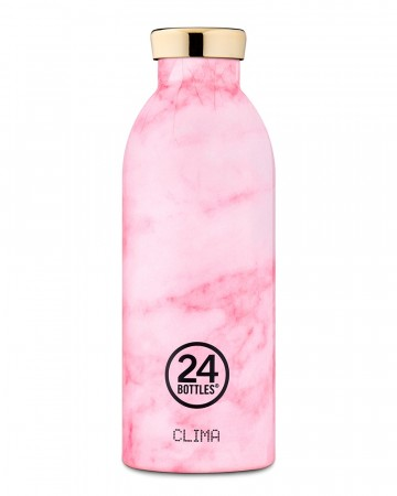 24Bottles Clima 0,5 L - Pink Marble
