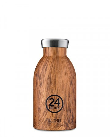 24Bottles Clima 0,33 L - Sequoia Wood
